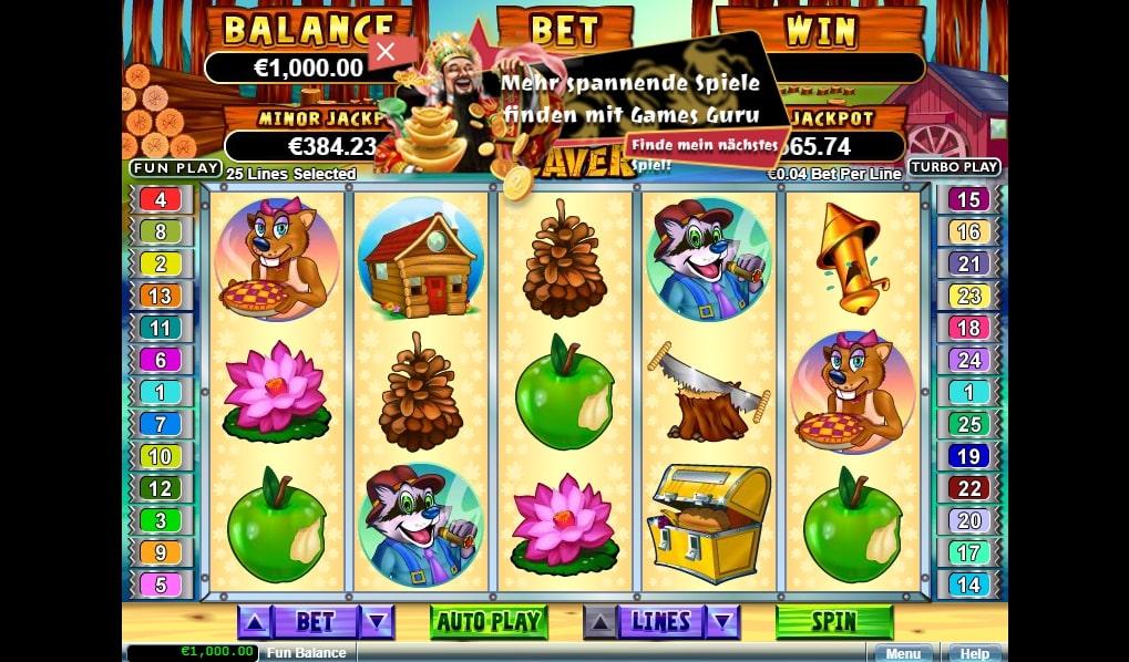 Builder Beaver Slots app to win money