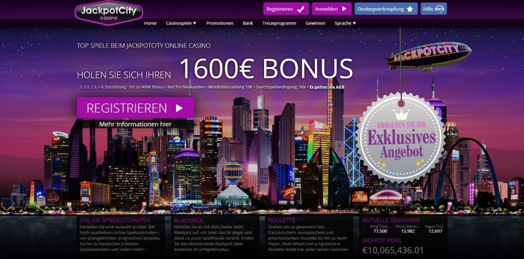 JackpotCity Casino app