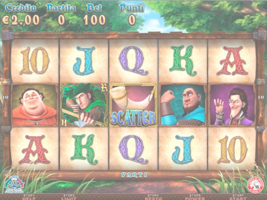Robin Hood von NetEnt on Yoyocasino