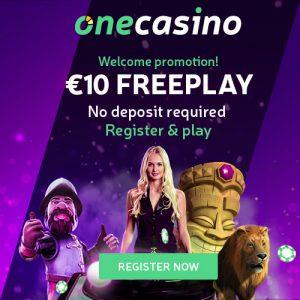 One Casino 10€ Gratis-Bonus