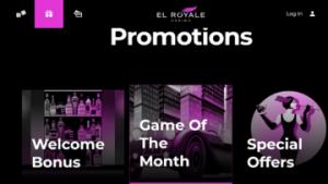 el royale casino promotions