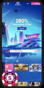 Las Atlantis Casino Mobile